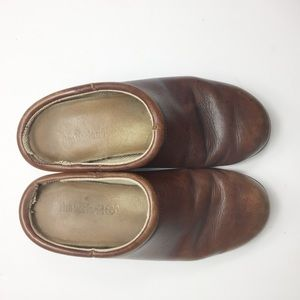 Timberland Women's Leather Slip On Mules